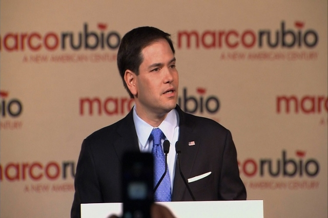 Senator Marco Rubio announced Monday, April 13, 2015, his campaign to seek the 2016 Republican presidential nomination. The 43-year old freshman senator from Florida seeks to paint himself as the  ...