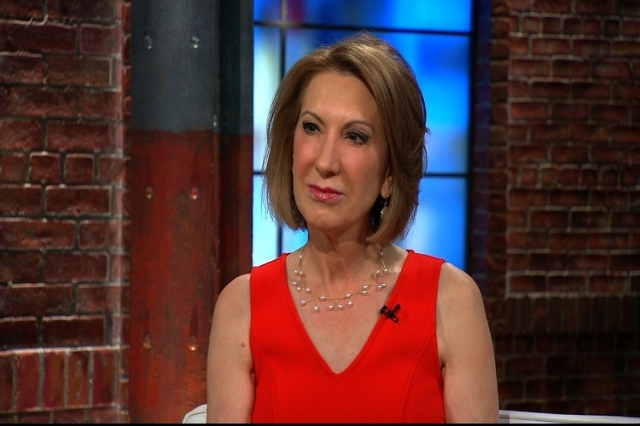 """Democratic presidential candidate Carly Fiorina appears on CNN's """"New Day"""" on June 17, 2015. (CNN)"""
