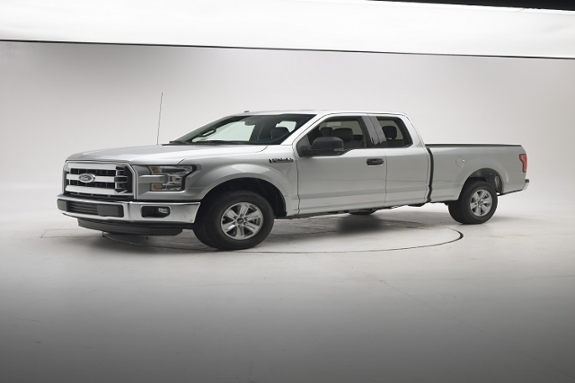 The 2015 Ford F-150 extended cab, or SuperCab, earned good ratings in Insurance Institute for Highway Safety's moderate overlap front, side, roof strength and head restraint evaluations but  ...