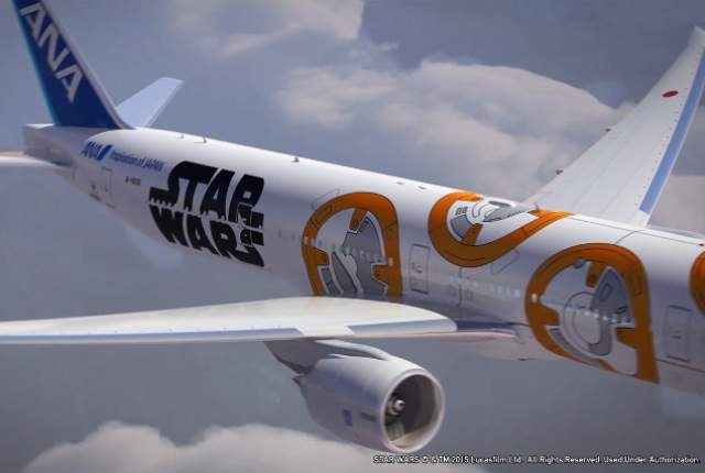 "In the latest corporate tie-in to build buzz for ""Star Wars: The Force Awakens,"" ANA, Japan's largest airline, announced Tuesday that two more planes will be decorated with characters  ..."