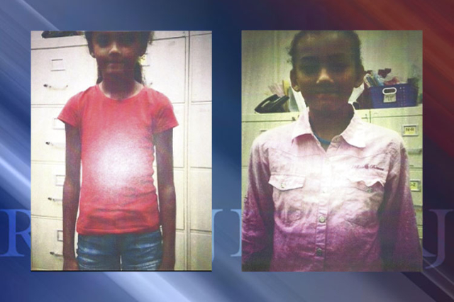 Las Vegas police are looking for Amayah and Alexis Singleton. (Las Vegas Metropolitan Police Department)