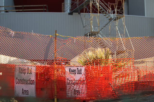 A construction site adjacent to the Thomas and Mack Center at UNLV in Las Vegas is seen on Wednesday,  Sept. 23, 2015. ERIK VERDUZCO/LAS VEGAS REVIEW-JOURNAL