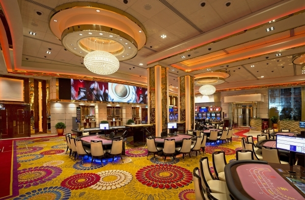 The gaming rooms at Galaxy Macau - Phase 2, a recently completed casino, are among the recent design Paul Steelman points to with pride. (Courtesy Steelman)
