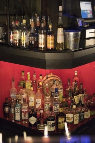 Liquor bottles are shown at The Golden Tiki in Las Vegas Wednesday, Sept. 16, 2015. Jason Ogulnik/Las Vegas Review-Journal