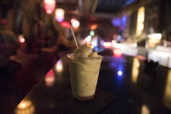 A Dole Whip is shown at The Golden Tiki in Las Vegas Wednesday, Sept. 16, 2015. Jason Ogulnik/Las Vegas Review-Journal