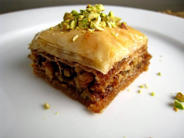 Baklava is set to be among pastries available during St. Sharbel Maronite Catholic Church's Lebanese American Festival, planned Oct. 9-11 at the church, 10325 Rancho Destino Road. (Special t ...