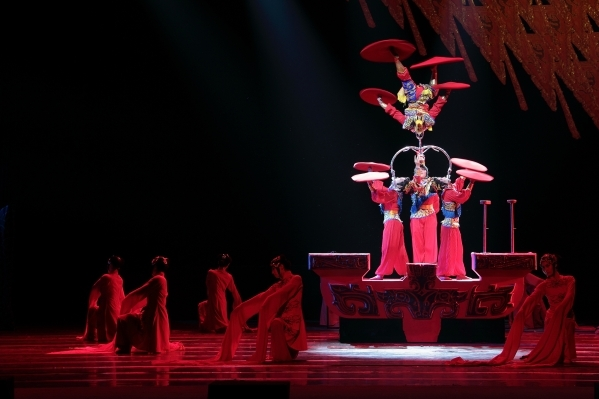 """Peking Dreams,"" featuring the National Circus and Acrobats of the People's Republic of China, combines a variety of acrobatic routines with the costumes, music and theatrical elem ..."