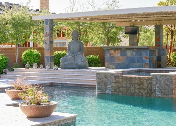 The Zen in the pool area. COURTESY PHOTO