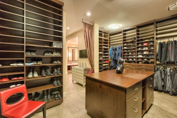 The home has a large closet. COURTESY PHOTO