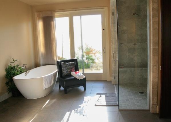The home's master bath. ELKE COTE/REAL ESTATE MILLIONS