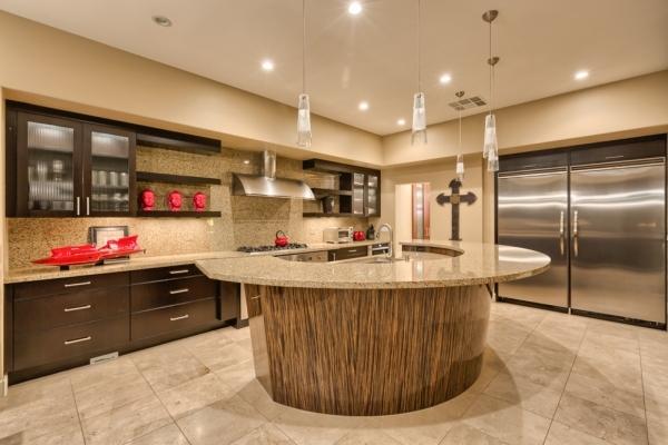 The home's kitchen. COURTESY PHOTO
