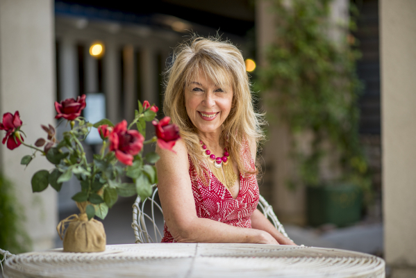 Carol Anne Weber poses for a photo at Desert Shores in Las Vegas on Saturday, Sept. 26, 2015. Weber, a speaker at the Las Vegas Review-Journal's upcoming Successful Aging Expo at Cashman Center, ...