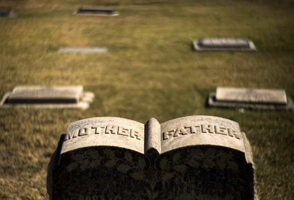 Tombstones are seen at Woodlawn Cemetery, 1500 Las Vegas Boulevard North, on Friday, Oct. 2,2015. Jeff Scheid/ Las Vegas Review-Journal Follow @jlscheid