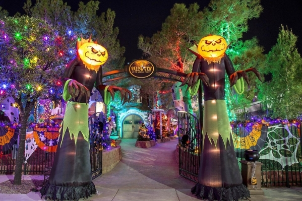 Opportunity Village, 6300 W. Oakey Blvd., is set to host HallOVeen, an attraction featuring the Magical ForestþÄôs walkthroughs and rides transformed into a spooky land of goblins and gho ...