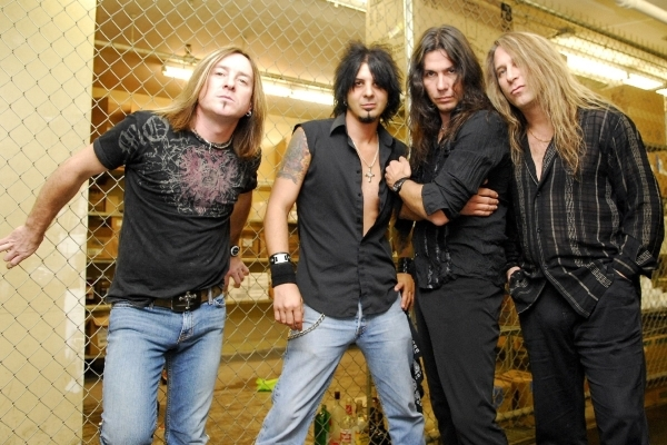 Slaughter plays the Downtown Las Vegas Events Center on Friday. COURTESY PHOTO