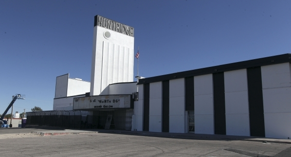 The Huntridge Theater, seen Monday, Sept. 30, 2013, in Las Vegas. (Jerry Henkel/Las Vegas Review-Journal)