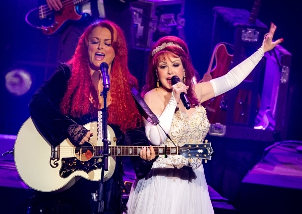 Naomi Judd, right, is playing a residency at The Venetian this month with daughter Wynonna, but when she's home nothing makes her happier than cooking for her family. PHOTO COURTESY ERIK KAB ...