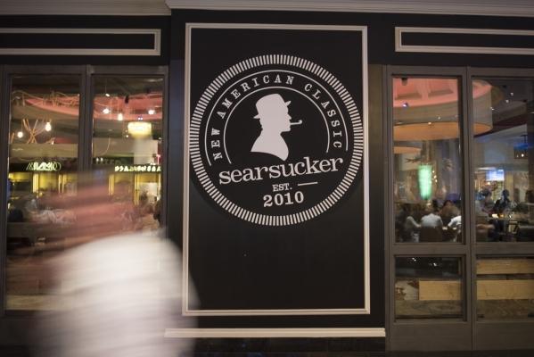 Searsucker at Caesars Palace in Las Vegas is shown Saturday, Oct. 10, 2015. Jason Ogulnik/Las Vegas Review-Journal