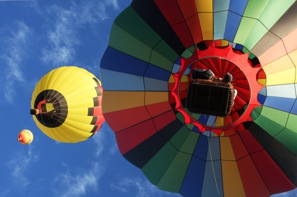 Balloons float through the air at a previous Balloon Festival at Southern Hills Hospital. The festival is set to return Oct. 23-25. (Special to View)
