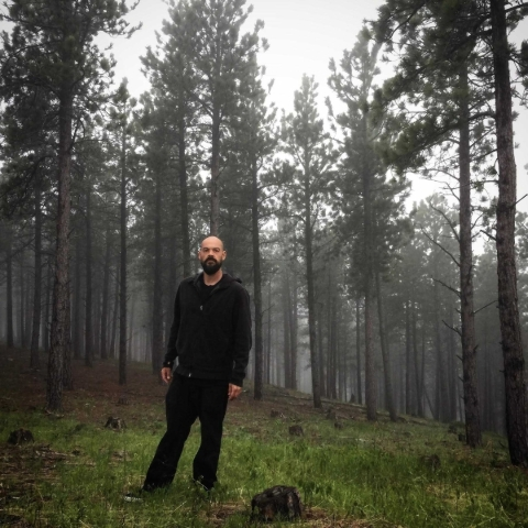 Aaron Goodwin gets ready for a night of ghost hunting in this undated photo taken in Deadwood, S.D. Goodwin, a resident of Southern Highlands, knows well the Summerlin area's penchant for pi ...