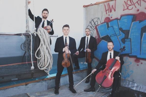 A little bit classical, a little bit rock 'n' roll: That's Well-Strung, the singing string quartet that kicks off UNLV's annual Charles Vanda Master Series Saturday at Arte ...