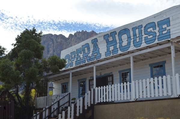 The opera house at Bonnie Springs Ranch is one of the spots visitors claim to have heard unexplained voices. (Ginger Meurer/Special to View)