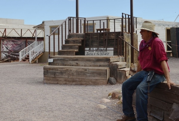 Cowboy entertainer Bill Miller said he hasn't seen anything, but he has heard voices and children playing when no one else was there at Bonnie Springs Ranch. (Ginger Meurer/Special to View)