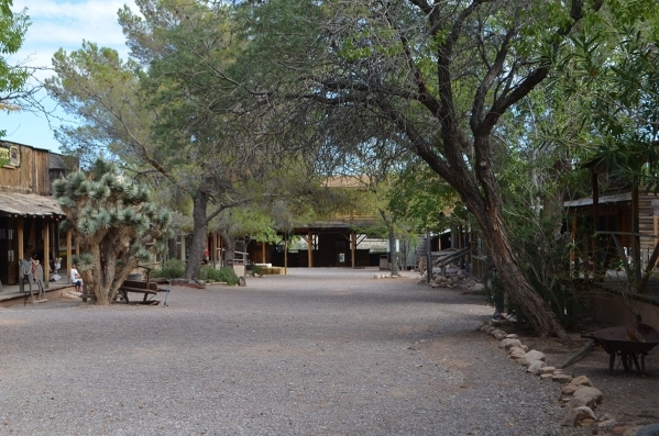 Ghosts are said to roam the streets in the old west town at Bonnie Springs Ranch. (Ginger Meurer/Special to View)