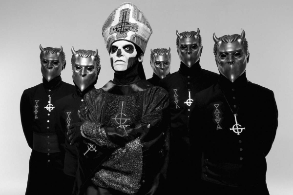 Ghost plays the House of Blues on Halloween night. COURTESY PHOTO