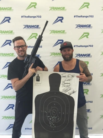 Breaking Benjamin at The Range 702. (Courtesy)