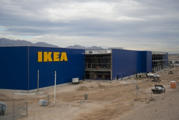 here s the latest on ikea las vegas photos las vegas review journal. Black Bedroom Furniture Sets. Home Design Ideas