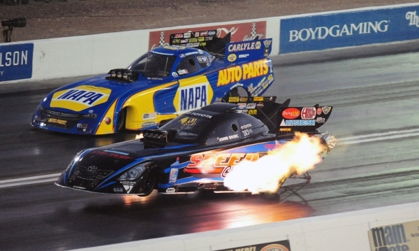 Dragsters Funny Cars Take The Stage Photos Las Vegas Review Journal