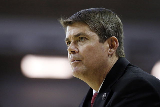 Rebels coach Dave Rice (USA Today)