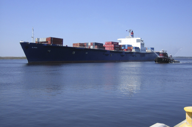 The El Faro is shown in this undated handout photo provided by Tote Maritime in Jacksonville, Florida, October 2, 2015. (Tote Maritime/Handout via Reuters)