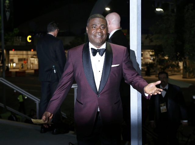 Actor Tracy Morgan attends the 67th Annual Primetime Emmy Awards Governors Ball in Los Angeles, California September 20, 2015.  (Mario Anzuoni/Reuters)