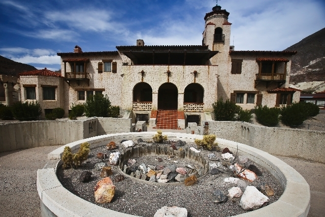 Scotty's Castle at Death Valley National Park in California as seen in this 2013 photo. (Henry Brean/Las Vegas Review-Journal)