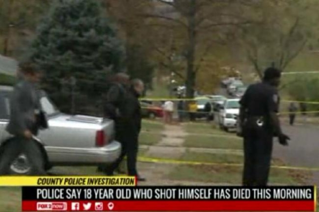Police in Normandy, Missouri investigate a scene where an 18-year-old teen was shot and killed on Thursday (KTVI/Inform)