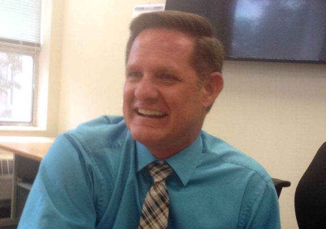 Patrick Cates, Nevada's new director of the Department of Administration (Sean Whaley/Las Vegas Review-Journal)