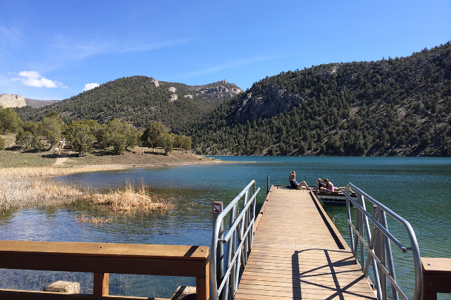 Cave Lake State Park in White Pine County (David Ferrara/Las Vegas Review-Journal file)