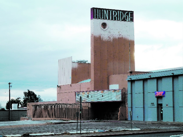 The Huntridge Theater is seen in this 2010 file photo. (Review-Journal)