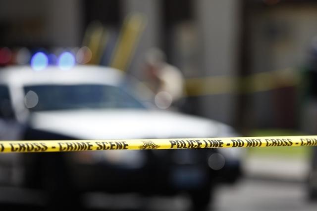 Las Vegas police. (Chase Stevens/Las Vegas Review-Journal)