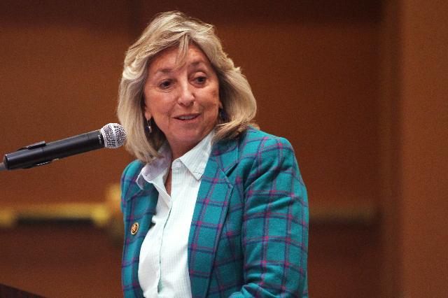 Congresswoman Dina Titus, D-Nev. (Sam Morris/Las Vegas Review-Journal)