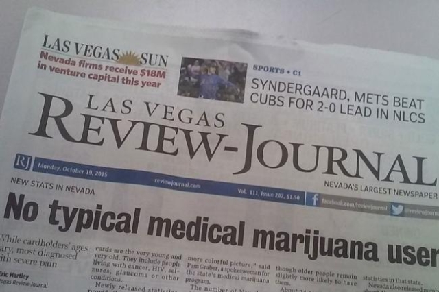 New Media Investment Group is the New York-based parent company of the Las Vegas Review-Journal.
