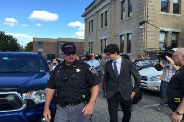 Owen Labrie Leaves Court After Verdict (Aaron COoper/CNN)