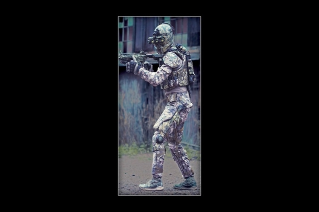 The Tactical Assault Light Operator Suit, or TALOS will be made of liquid armor (Brent Harrewyn/Revision Military/CNN)