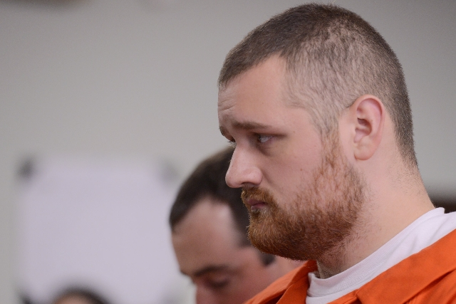 Joseph Irwin appears in court on October, 15, 2015, after the fatal beating of Lucas Leonard in the sanctuary of Word of Life Christian Church in Hartford, New York. (CNN)