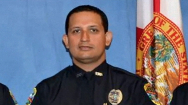 Palm Beach Gardens Police Officer Nouman Raja stopped to investigate what he believed was an abandoned car along Interstate 95, according to authorities. Raja was on duty, but was wearing civilian ...