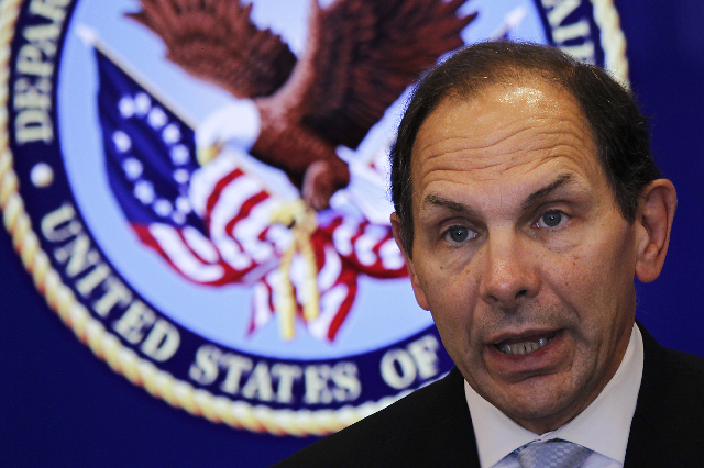 Veterans Affairs Secretary Robert McDonald (Las Vegas Review-Journal)