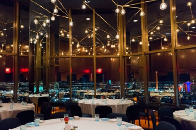 Rivea, with its neighboring Skyfall lounge, held its grand opening last Thursday. Star chef Alain Ducasse's latest restaurant is on the 64th floor of the Delano Las Vegas. (Courtesy)