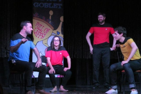 """On Friday and Saturday, young troupes from around America perform at the third annual Improv Goblet Fest at the Baobab Stage inside Town Square. Saturday features """"Star Trek: The Next Improvi ..."""